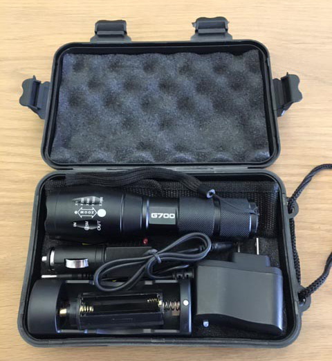 G700 Tactical Flashlight Kit