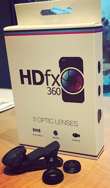 hdfx 360 Phone Lenses